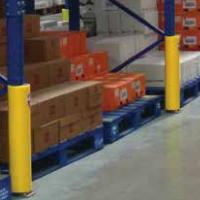 pallet rack frame post protector
