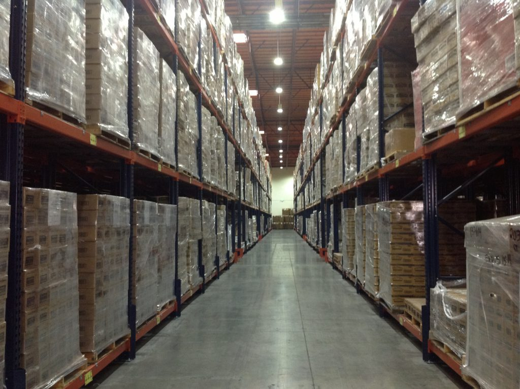 Warehouse racking aisle -how to measure the clear aisle