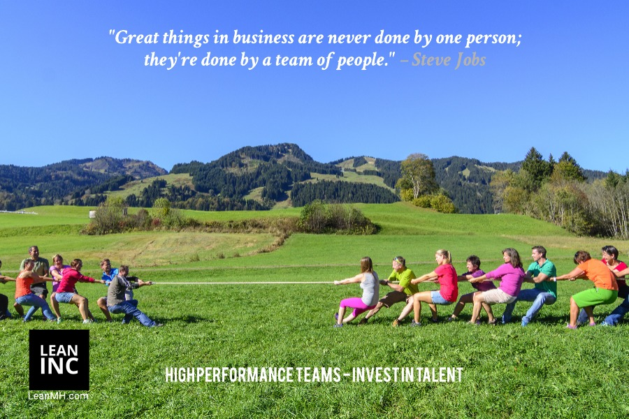 """Great things in business are never done by one person; they're done by a team of people."" – Steve Jobs Famous Quotes"