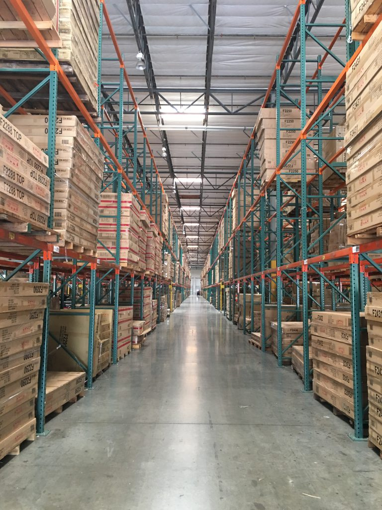 WAREHOUSE WITH RACKING - RACK REPAIR