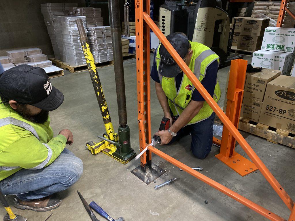 Rack Repair installers