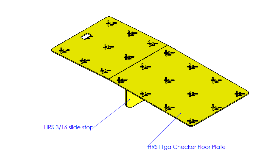 DOCK GAP GUARD - TECHNICAL DRAWING