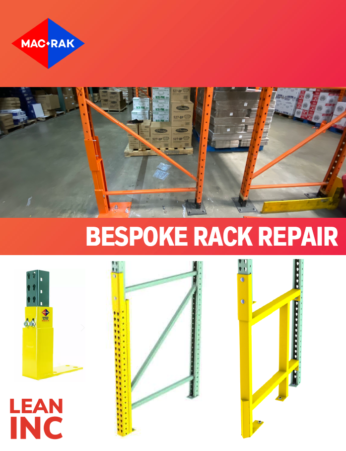 Rack Repair Brochure and How-to guide - brochure cover image