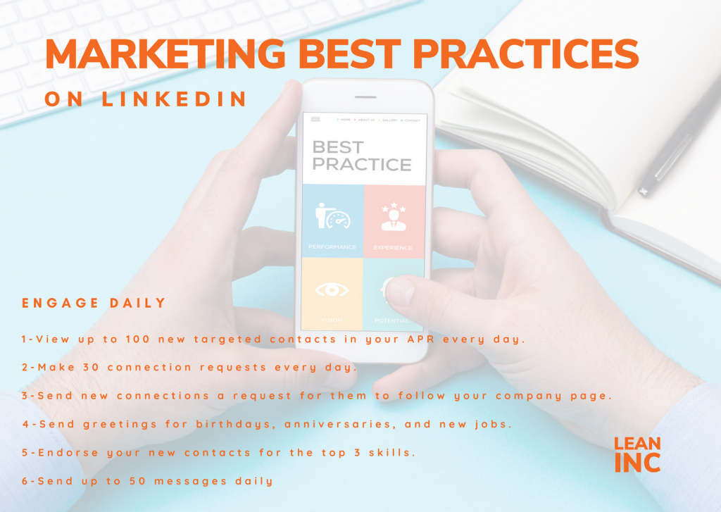 LINKEDIN MARKETING BEST PRACTICES