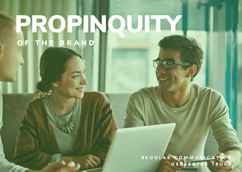 PROPINQUITY - THREE BUSINESS PEOPLE MEETING REGULARLY