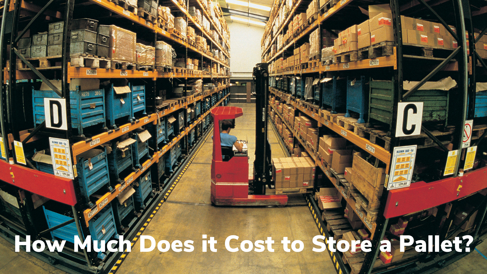 How Much Does it Cost to Store a Pallet?