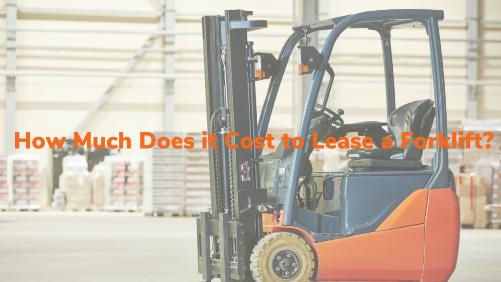 Lease a used Toyota Forklift