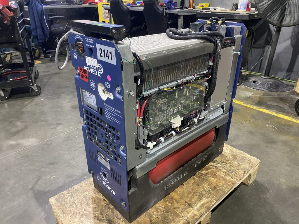 Forklift Fuel Cell on a pallet