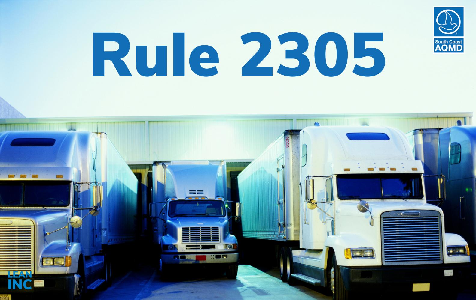 AQMD rule 2305