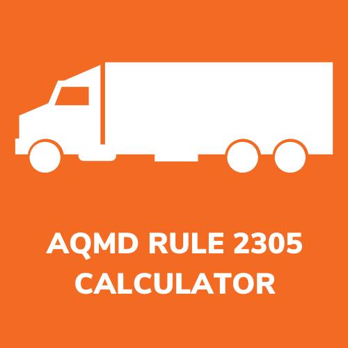 AQMD RULE 2305 CALCULATOR