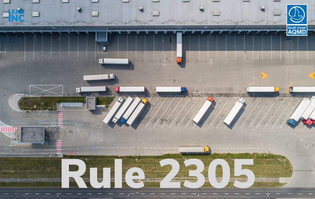 South Coast Air Quality Management District Rule 2305 - diesel truck pollution